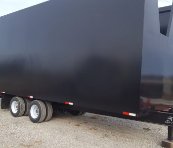 27′ Debris Trailer W/ Doors 8 Week Lead Time